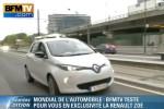 La Renault Zoé ZE testée par BFM TV