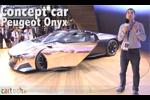 Peugeot Onyx en direct du Mondial de l'Auto de Paris