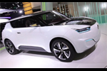 Le concept hybride rechargeable e-XVI de SsangYong en direct du Mondial