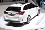 Mondial 2012 - Zoom sur la Toyota Auris Touring Sports Hybride
