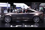Le coupé hybride Lexus LF CC au Mondial de Paris
