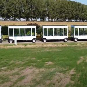 Le premier train électrique solaire adapté aux stations de montagne
