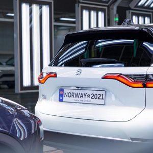 Les SUV électriques Nio ES8 sont arrivés en Europe