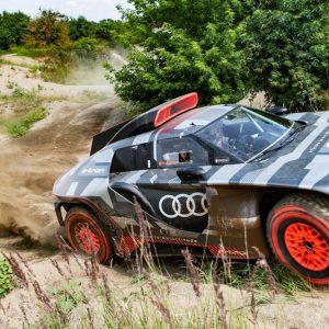 Audi mise sur l'électrique pour remporter le Dakar