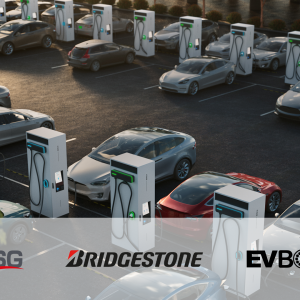 Infrastructure de recharge : EVBox, Bridgestone et TSG s'associent
