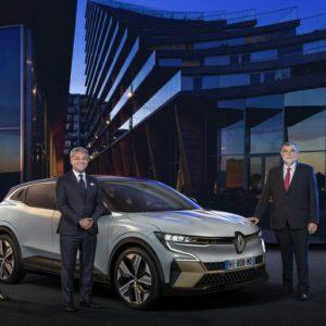 La Mégane E-Tech Electric se dévoile à l'IAA 2021
