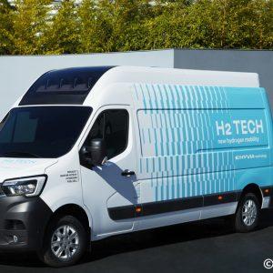 Hyvia dévoile son premier véhicule utilitaire à hydrogène